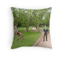 Joe, you said we were getting a horse drawn carriage----what was I supposed to think? Throw Pillow