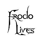Frodo Lives - Black by Earth-Gnome