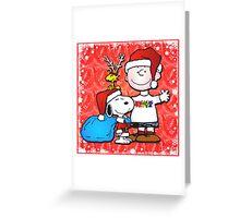 charlie brown christmas Greeting Card