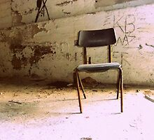 The Chair Left Behind by Lucky  King