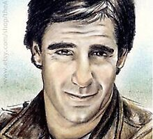 Scott Bakula miniature by wu-wei