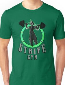 Strife's Gym! - Final Fantasy Unisex T-Shirt