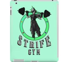 Strife's Gym! - Final Fantasy iPad Case/Skin