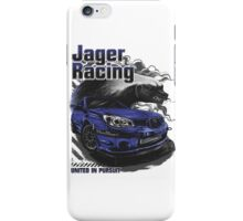 Jager Raging Fierce Badger iPhone Case/Skin