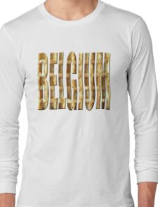 Belgium wafelland Long Sleeve T-Shirt