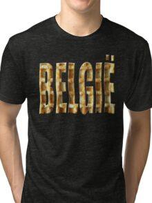 Belgium wafelland Tri-blend T-Shirt