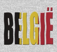 Belgian Tricolor (Flemish/Vlaams Dutch/Nederlands) by stuwdamdorp