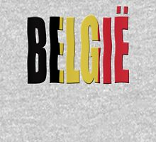 Belgian Tricolor (Flemish/Vlaams Dutch/Nederlands) Mens V-Neck T-Shirt