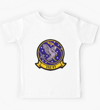 VFA-97 Warhawks Patch Kids Tee