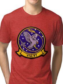 VFA-97 Warhawks Patch Tri-blend T-Shirt