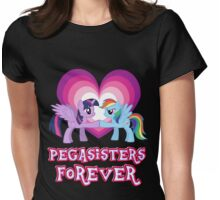 Pegasisters Forever 3 Womens Fitted T-Shirt