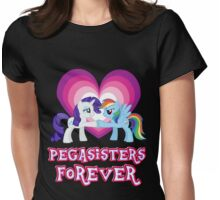 Pegasisters Forever 4 Womens Fitted T-Shirt