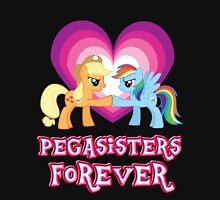 Pegasisters Forever 5 Womens Fitted T-Shirt