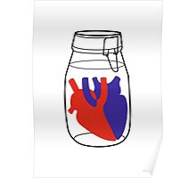 Heart in a jar poster 018 Poster