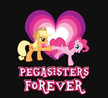 Pegasisters Forever 7 Womens Fitted T-Shirt