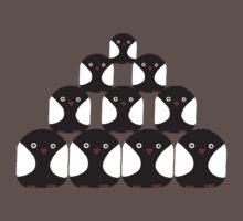 Penguin Pyrimid Baby Tee
