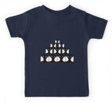 Penguin Pyrimid Kids Tee