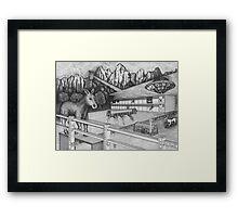 Horse Perspective Framed Print