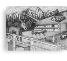 Horse Perspective Canvas Print
