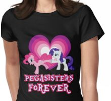 Pegasisters Forever 11 Womens Fitted T-Shirt