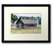 The Penthouse Coop Framed Print