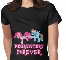 Pegasisters Forever (No Heart) 2 Womens Fitted T-Shirt