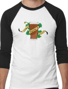 Drink Irish Beer Men's Baseball ¾ T-Shirt