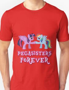 Pegasisters Forever (No Heart) 3 Unisex T-Shirt