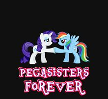 Pegasisters Forever (No Heart) 4 Womens Fitted T-Shirt