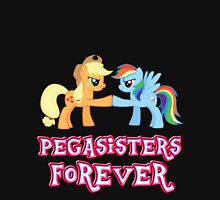 Pegasisters Forever (No Heart) 5 Womens Fitted T-Shirt