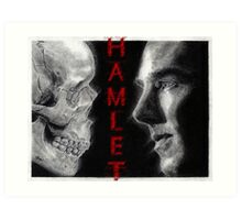 To be, or not to be... Hamlet Version II Art Print