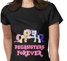 Pegasisters Forever (No Heart) 10 Womens Fitted T-Shirt