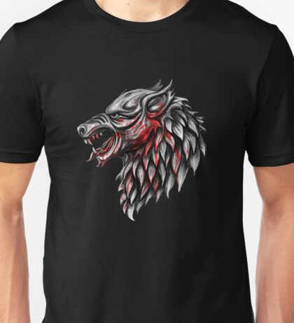 Dire Wolf version 2 Unisex T-Shirt