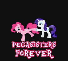 Pegasisters Forever (No Heart) 11 Womens Fitted T-Shirt