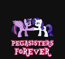 Pegasisters Forever (No Heart) 12 Womens Fitted T-Shirt