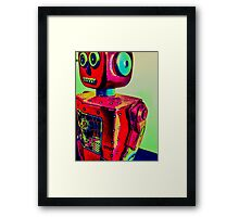 Robot Automatic Framed Print