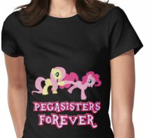 Pegasisters Forever (No Heart) 15 Womens Fitted T-Shirt
