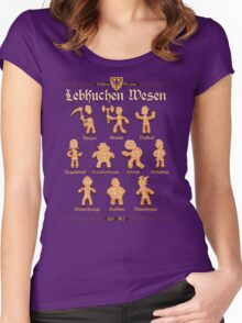 Grimm Gingerbread Women's Fitted Scoop T-Shirt