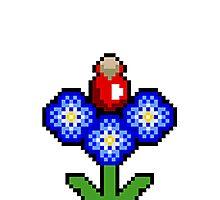 potion plant pixel  Photographic Print
