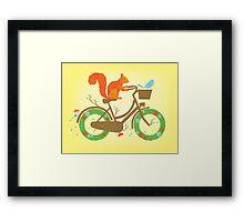 Natural cycles Framed Print