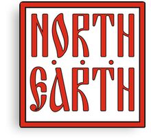 North Earth Canvas Print