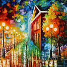 INSIDE THE MORNING FOG by Leonid  Afremov