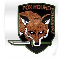 Fox Hound logo 2.0  Poster