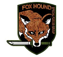 Fox Hound logo 2.0  Photographic Print
