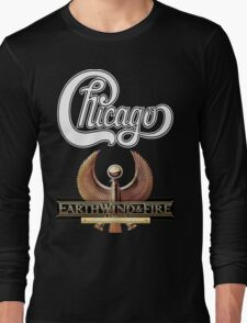 Chicago Earth Wind Fire Heart and Soul Tour 2016 AM1 Long Sleeve T-Shirt