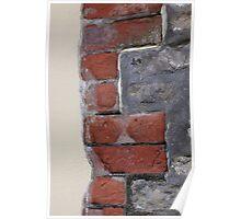 Stone, brick, render Poster