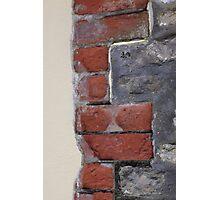 Stone, brick, render Photographic Print