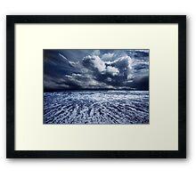Storm seascape Framed Print