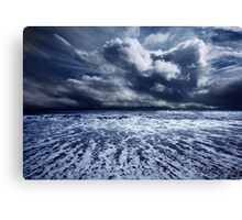 Storm seascape Canvas Print