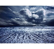 Storm seascape Photographic Print
